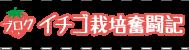 ブログ イチゴ栽培奮闘記